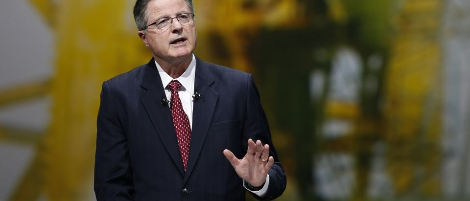 Chevron Corp. CEO Watson speaks during the 26th World Gas Conference in Paris