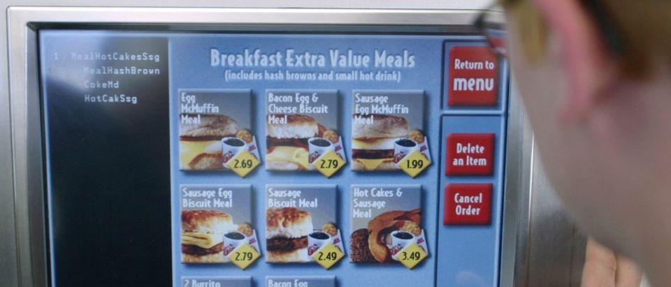 McDonald's automated kiosk (REUTERS/Rick Wilking)