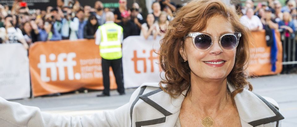 "Actress Sarandon arrives on the red carpet for the film ""The Meddler"" during the 40th Toronto International Film Festival in Toronto"