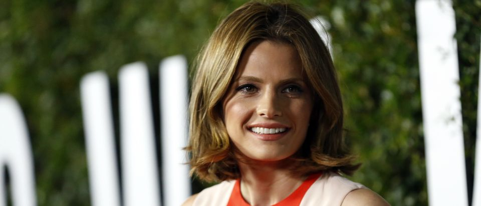 """Katic poses at the premiere of """"Mandela: Long Walk to Freedom"""" in Los Angeles"""