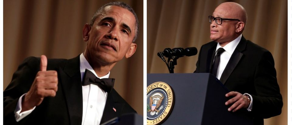 """At the Monday's White House press briefing, Press Secretary Josh Earnest said President Obama """"appreciated"""" Larry Wilmore's use of the n-word during Saturday's White House Correspondents' Dinner. (Reuters Pictures)"""