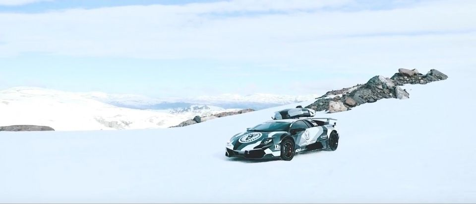 Lamborghini (Credit: Screenshot/Youtube Jon Olsson)