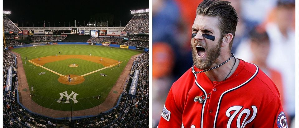 Yankee Stadium, Bryce Harper (Getty Images)