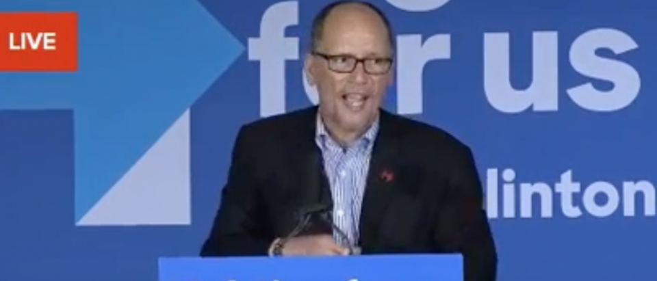 Labor Sec. Tom Perez speaks at a Clinton campaign event in Chula Vista, Calif., May 21, 2016. (Youtube screengrab)