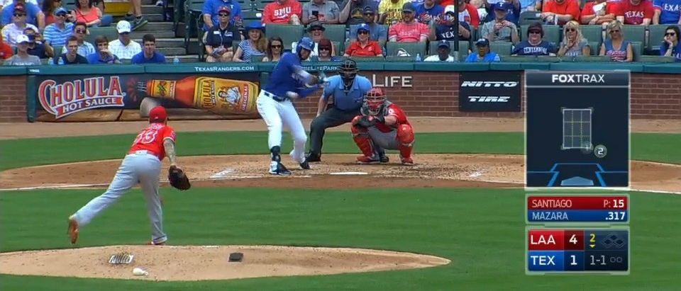Nomar Mazara hits 491-foot homer (MLB)