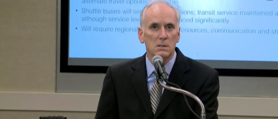 Metro GM Paul Wiedefeld announces repair plan.