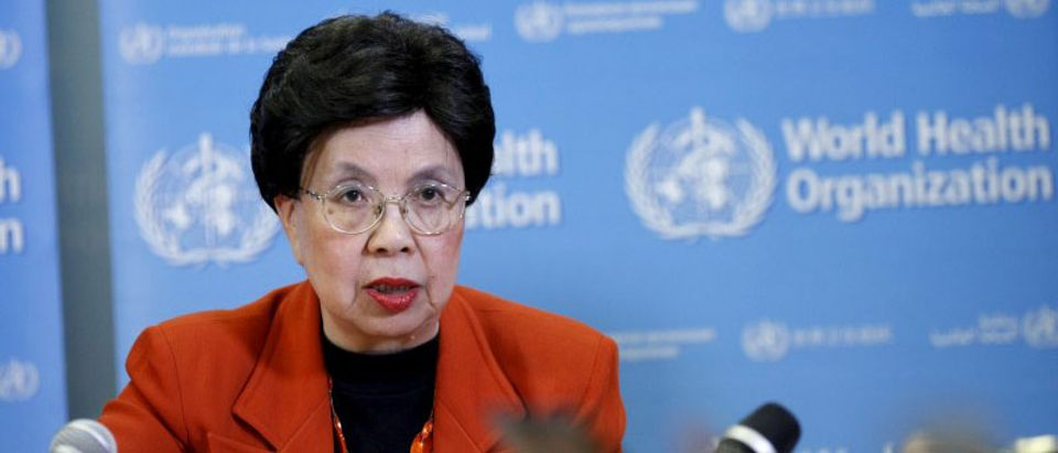 World Health Organization (WHO) Director-General Margaret Chan speaks during a news conference after the first meeting of the International Health Regulations (IHR) Emergency Committee concerning the Zika virus in Geneva, Switzerland, February 1, 2016. REUTERS/Pierre Albouy