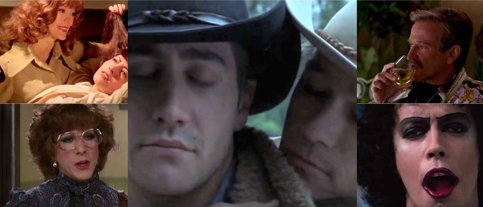 YouTube screenshots: 70's 80's Trailers, Video Detective, David Moya, MGM, Movieclips