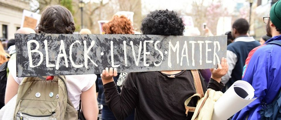 Black Lives Matter Sign (Shutterstock)