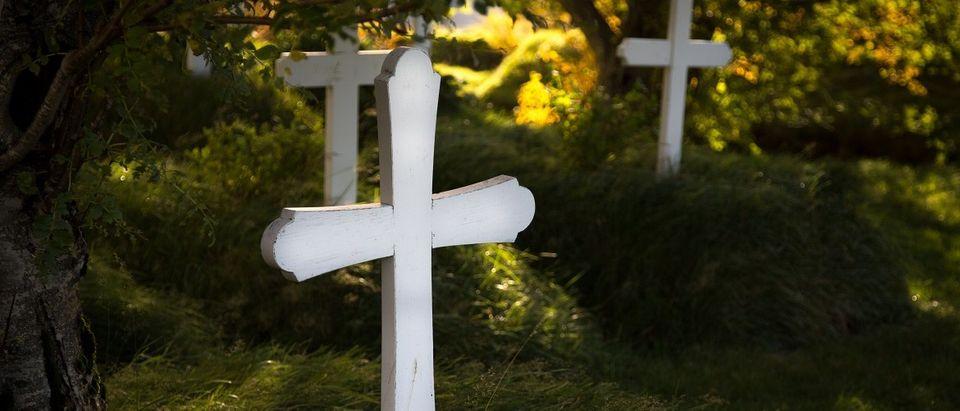 White Crosses (Shutterstock)