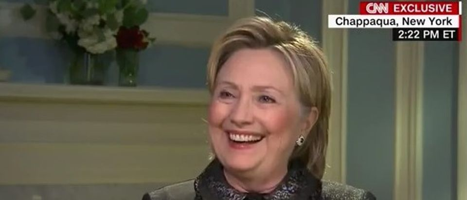 Hillary Clinton discusses Donald Trump, May 4, 2016. (Youtube screen grab)