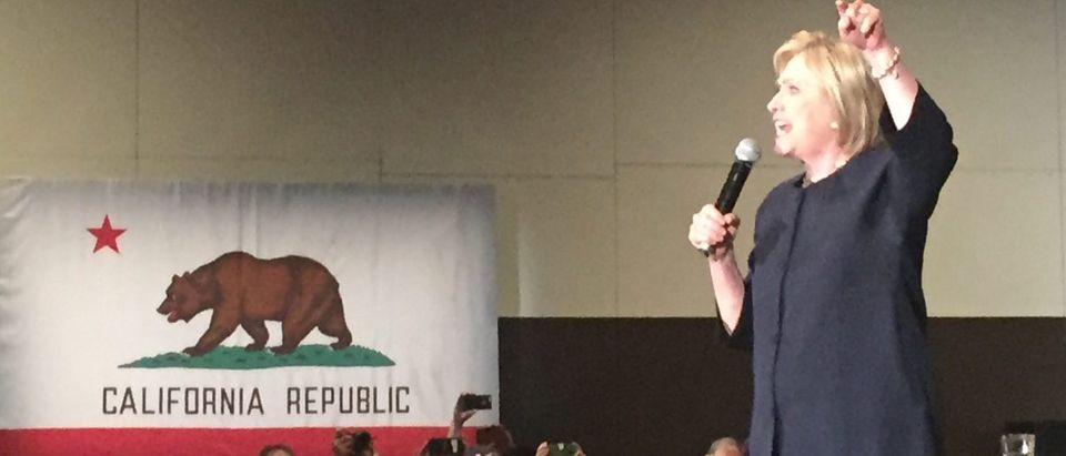 Hillary Clinton in California (Chuck Ross)
