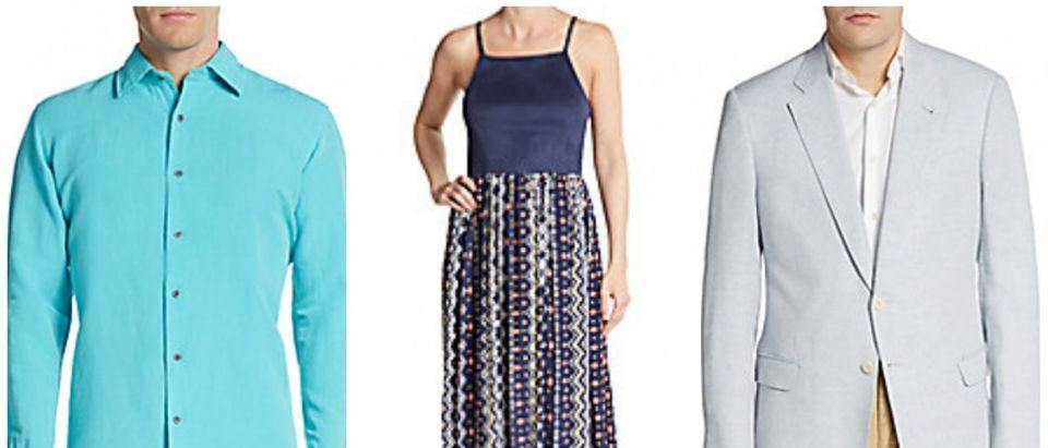 Saks apparel is on sale (Photos via Saks OFF Fifth)