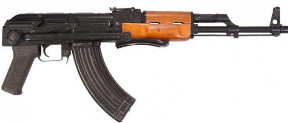 AK-47 (Credit: Shutterstock)
