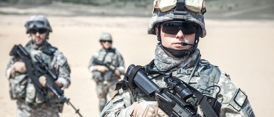 U.S. Paratroopers (Shutterstock)
