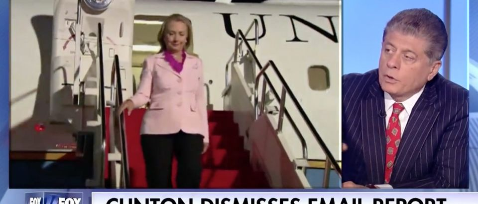 Andrew Napolitano, Screen Grab Fox News, 6-6-2016