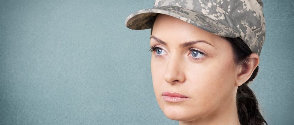 The military should consider changing its policies to cover abortions for servicewomen and should provide additional education and emotional resources to military women, claims a study released Wednesday. (Photo: Shutterstock/Billion Photos)