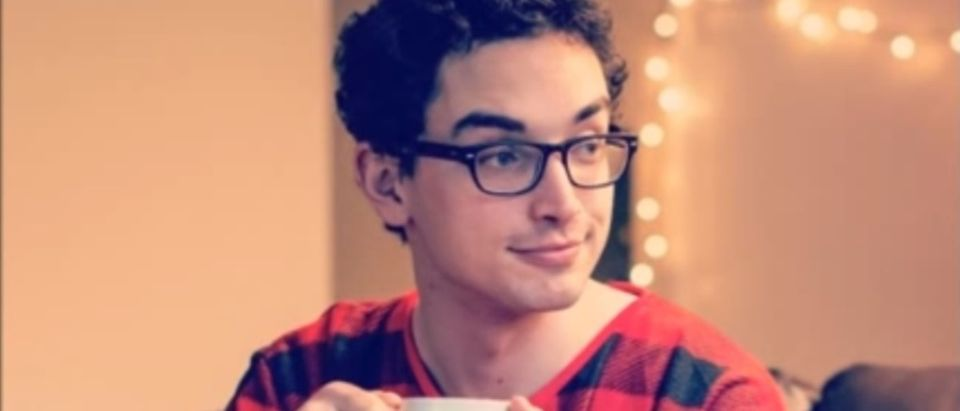 Ethan Krupp pajama boy YouTube screenshot/Listitude