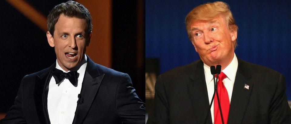 Seth Meyers Donald Trump