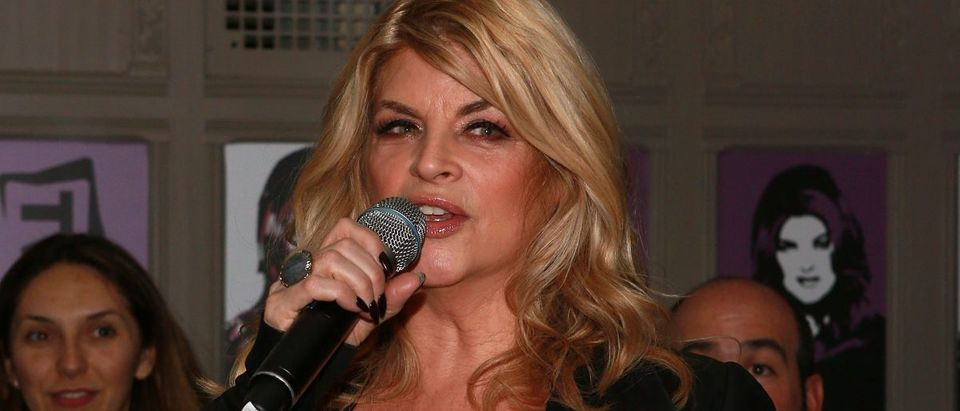 Actress Kirstie Alley attends the 'Kirstie' premiere party at Harlow on December 3, 2013 in New York City