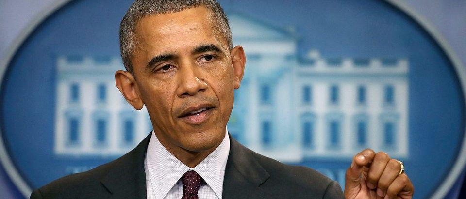 President Obama Speaks On The Mass Shooting At Community College In Oregon [Mark Wilson/Getty Images]