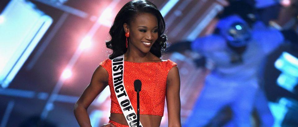 Miss USA questions Miss Dc