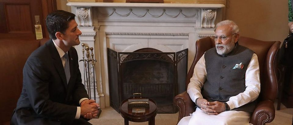House Speaker Paul Ryan Meets With Indian Prime Minister Narendra Modi