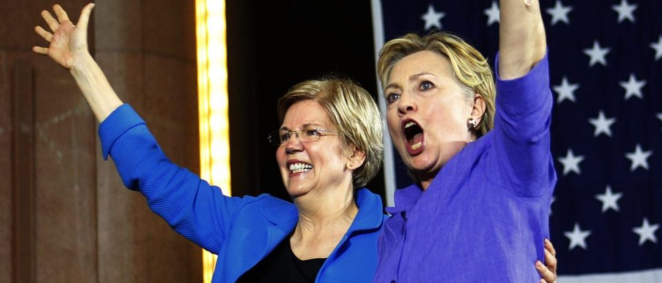 Elizabeth Warren HIllary Clinton (Photo: John Sommers II/Getty Images)