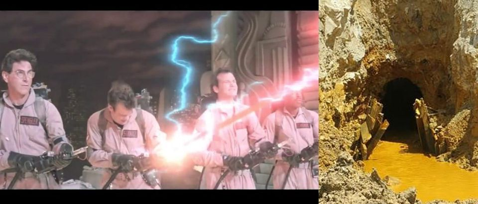 Ghostbusters and Gold King Mine