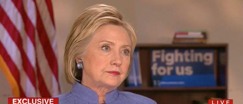 Hillary Clinton, Screen Grab CNN, 6-3-2016