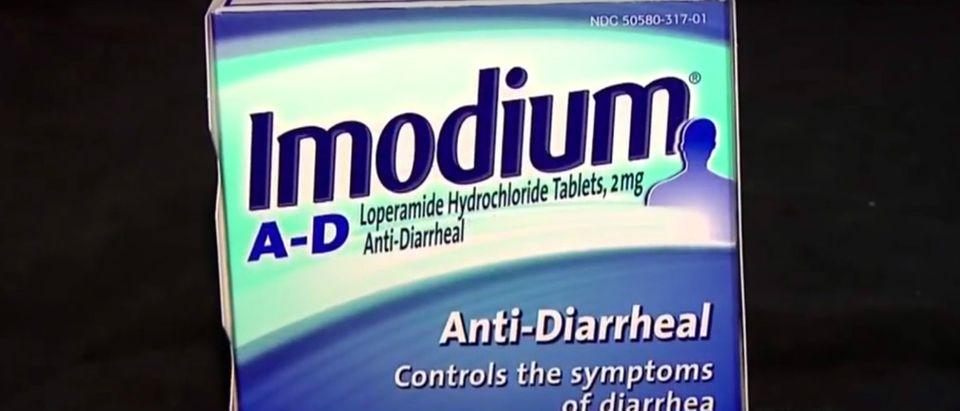 Imodium YouTube screenshot/CBS New York