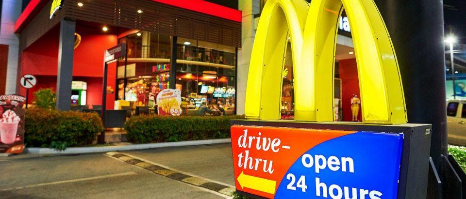 McDonalds: Shutterstock/Sorbis