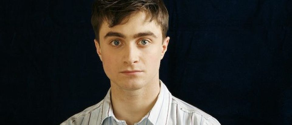 Actor Daniel Radcliffe poses for a portrait in New York