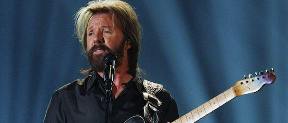 """Ronnie Dunn performs """"Bleed Red"""" at the 46th annual Academy of Country Music Awards in Las Vegas"""