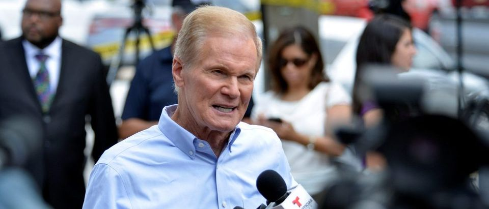U.S. Senator Bill Nelson speaks at a news conference after a shooting attack at Pulse nightclub in Orlando, Florida