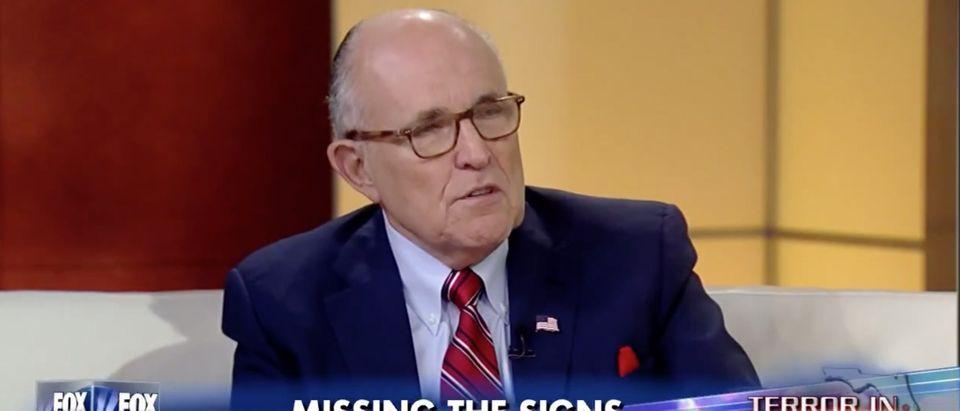 Rudy Giuliani, Screen Grab FNC, 6-14-2016