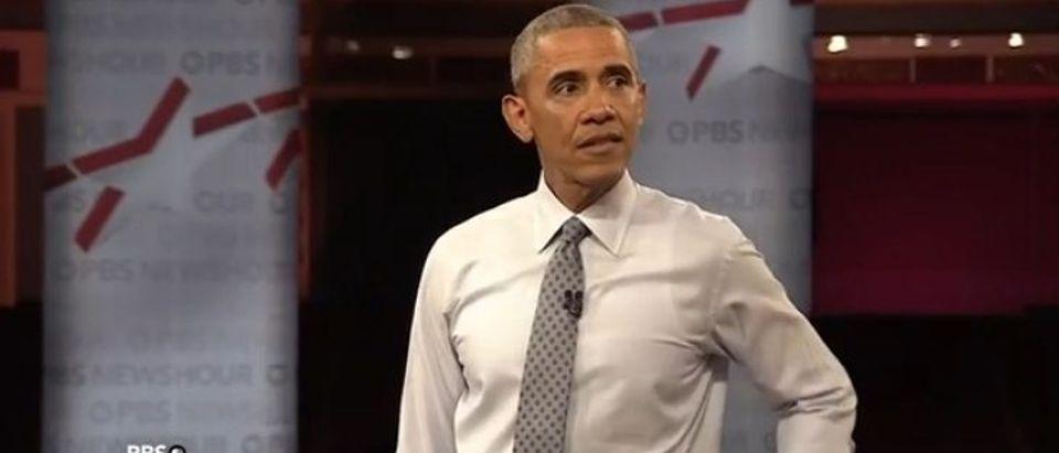President Barack Obama (PBS Newshour)