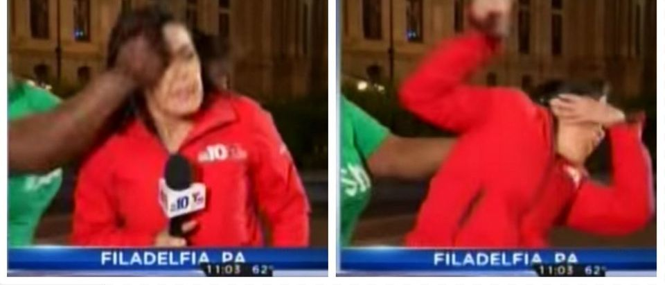 WATCH: Black Woman Attacks Reporter During Live Segment In Philadelphia (Telemundo)