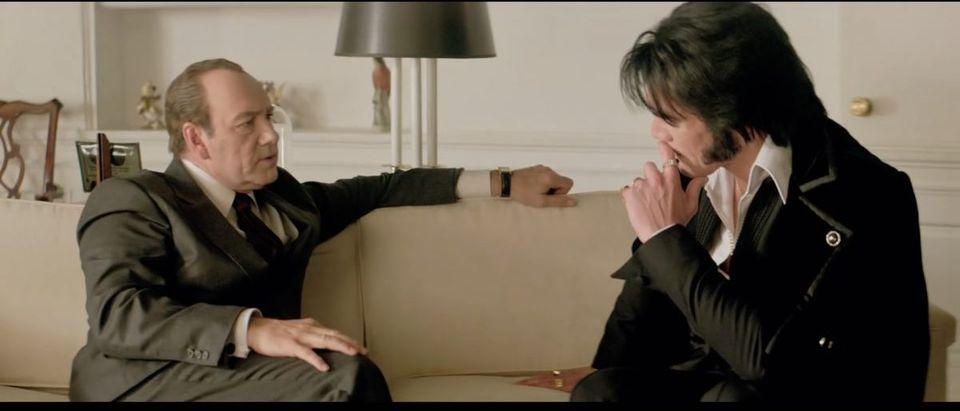Elvis & Nixon (Credit: Screenshot/Youtube Sony Pictures Entertainment)