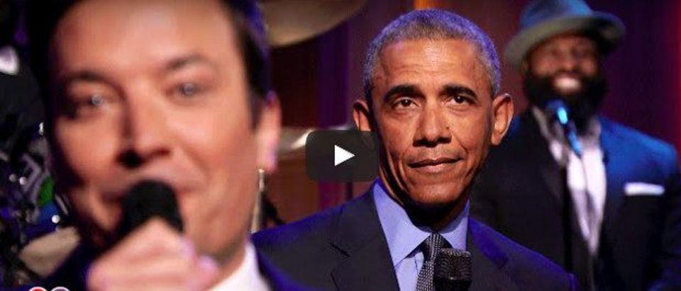 Barack Obama on Jimmy Fallon