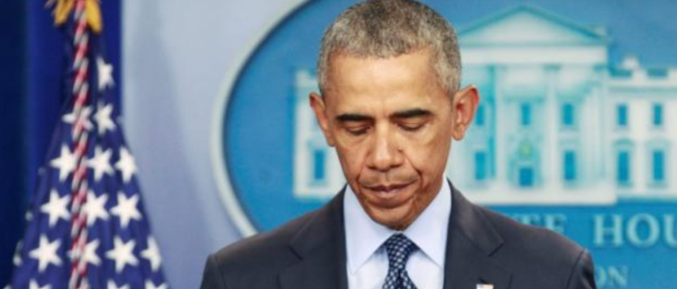 President Obama adresses the nation following Orlando nightclub shooting. June 12, 2016. (REUTERS/Joshua Roberts)