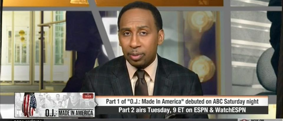 Stephen A. Smith (Credit: Screenshot/Youtube ESPN FIRST TAKE)