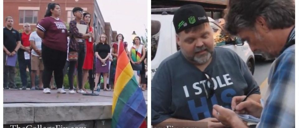 Racial Activists Kick Gay, Married Couple Out Of Orlando Vigil For Being White (The College Fix YouTube)