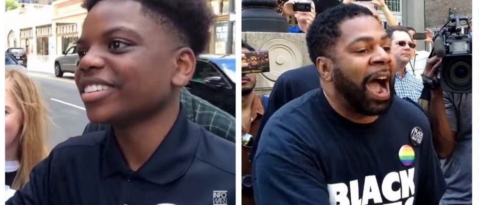 Black Teen Trump Supporter EVISCERATES BLM Activist With Facts, Logic (YouTube)