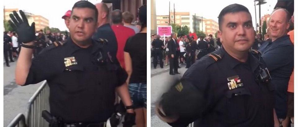 WATCH: Atlanta Cop Admits Violent Protesters Got Bussed Into Trump Rally (Alex Jones YouTube)