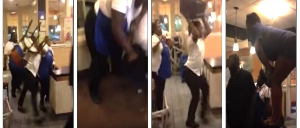 Huge fight breaks out at Tennessee IHOP