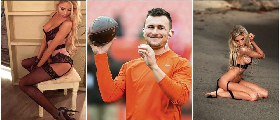 Johnny Manziel, Daisy Lea (Credit: Instagram, Getty Images)