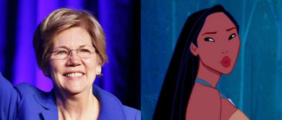 Sen. Elizabeth Warren, Pocahontas, Images via Reuters Screen Grab YouTube