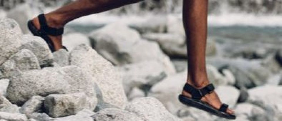 Teva sandals are on sale today (Photo via Amazon)