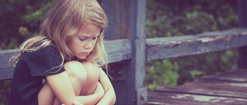 Sad Blond Girl (Shutterstock)